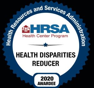 HRSA Health Disparities Reducer 2020 Awardee